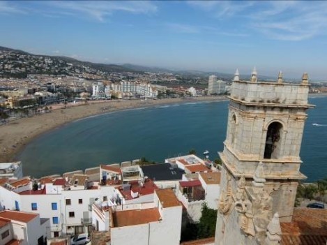 vista Peñiscola