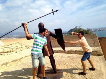 mis bonitos al castillo de Alicante